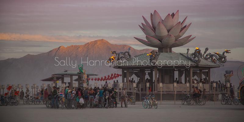 Mazu Goddess of the Empty Sea~Burning Man 2015