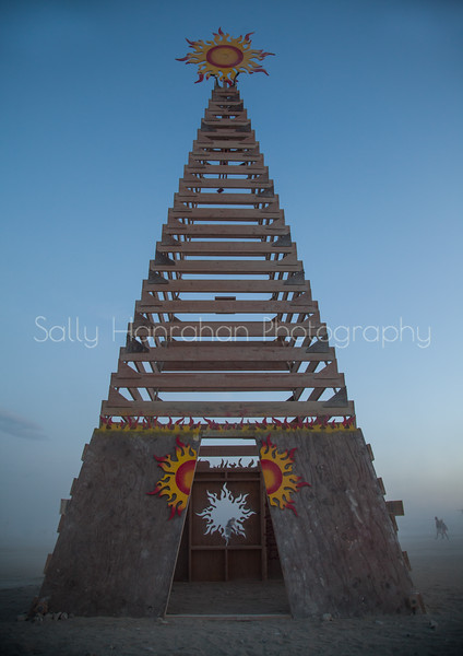 Sun Tower~Burning Man 2015
