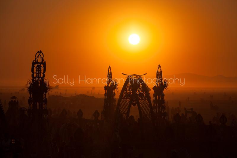 Temple of Grace~Burning Man 2014