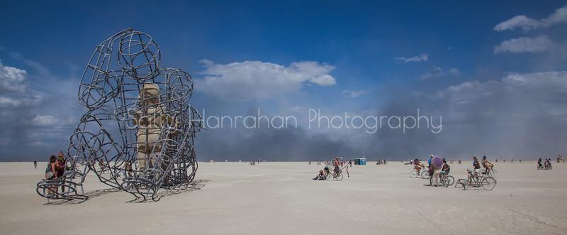 Love and Desert Dust Storm~Burning Man 2015