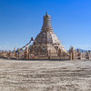 Temple of Grace Under Construction~Burning Man 2014