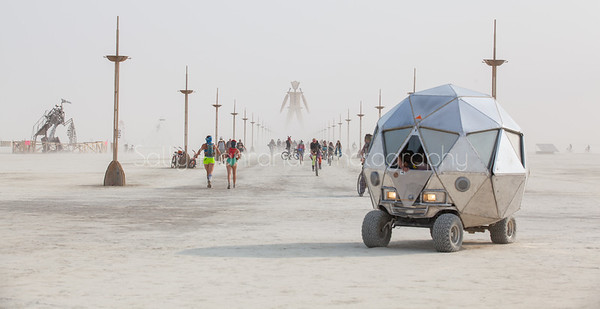 Burning Man 2014 Art Car