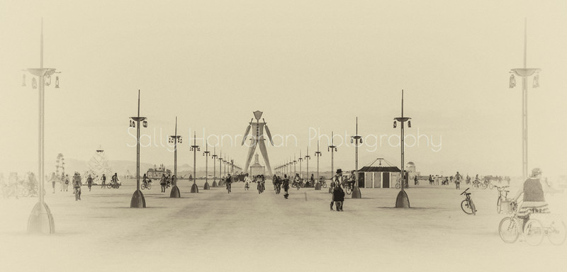 The Esplanade to Burning Man 2014