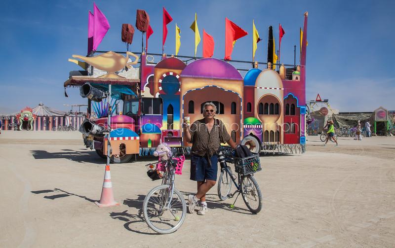 The Casba Car~Burning Man 2015
