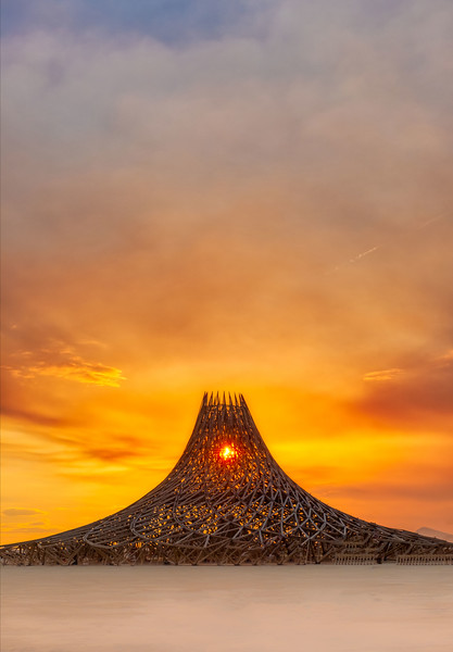 Temple Sunrise