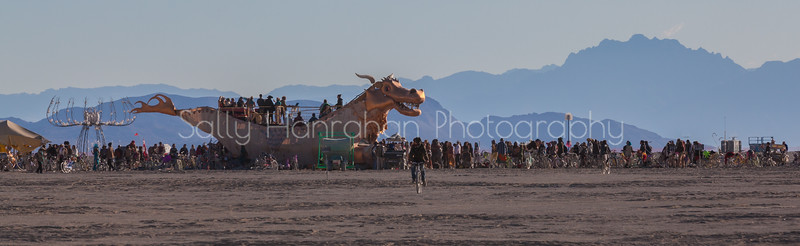 Abraxas Dragon~Burning Man 2015