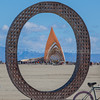 Temple of Promise Through the O ~ Burning Man 2015