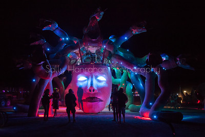 Medusa~Burning Man 2015