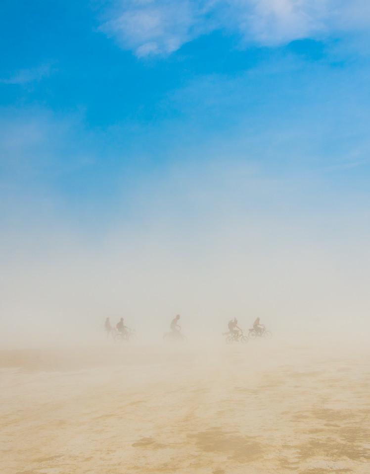 Braving the Storm  |  Burning Man