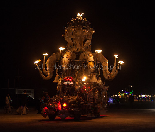 El Pulpo Mechanica~Burning Man 2015