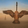 Penny the Goose~Burning Man 2015