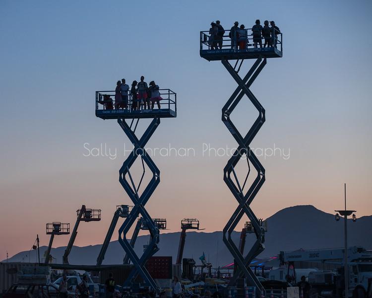 Scissor Jacks ~ Burning Man 2015