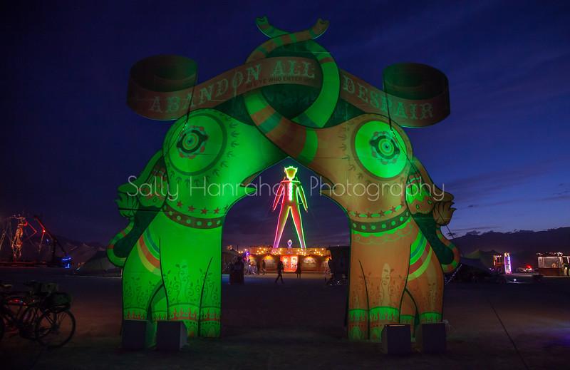 Carnival of Mirrors Entrance~Burning Man 2015