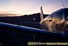 The BRC airport at dawn
