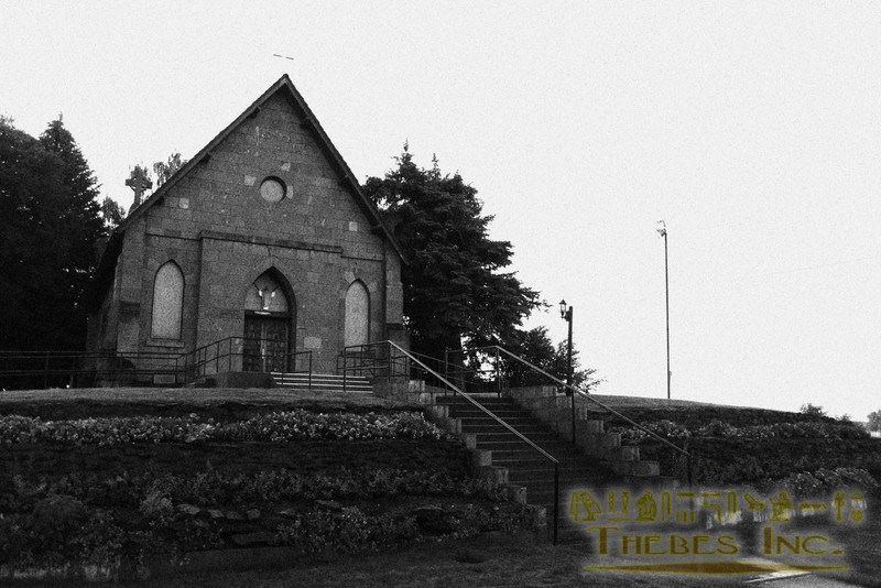 On the only hill in town sits a historic Catholic church. Its back yard overlooks plains leading to the foot of the mountains.