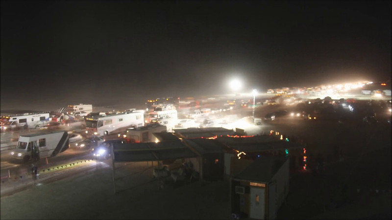 (HD version) Opening Night at Burning Man 2011, as seen from the Gate