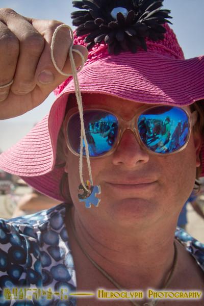 Puzzle-piece necklace for Jim