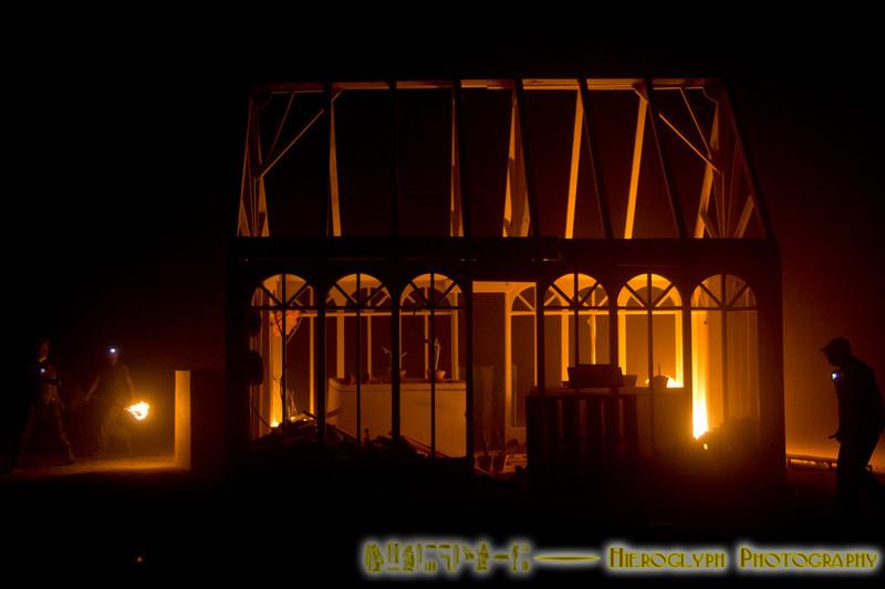 Mendalson's Garden burn