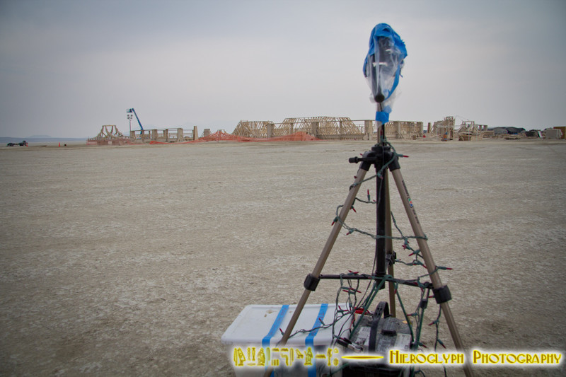 My ContourGPS camera is set up to do a timelapse of the Temple construction.<br /> <br /> it's been fussy, so let's hope this works.