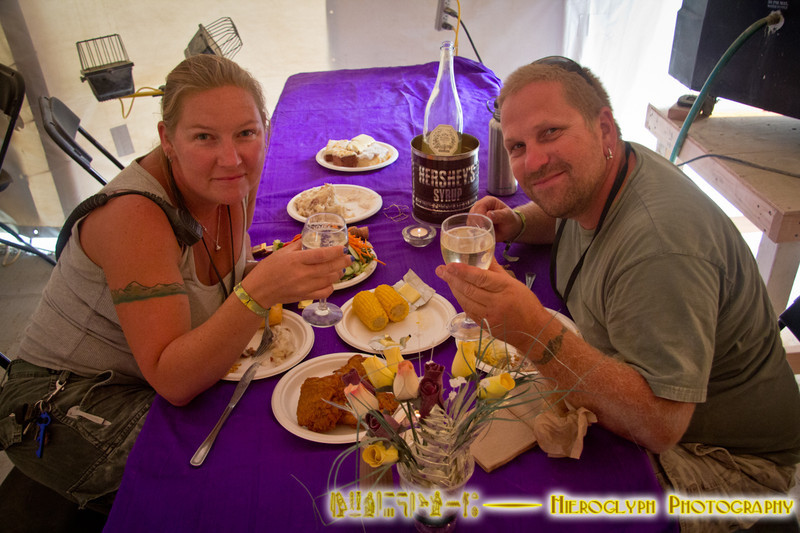 Wedding Anniversary in the Commissary