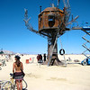 Burning Man, Steampunk treehouse