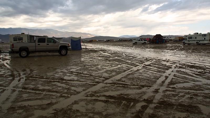 Rain on the Desert