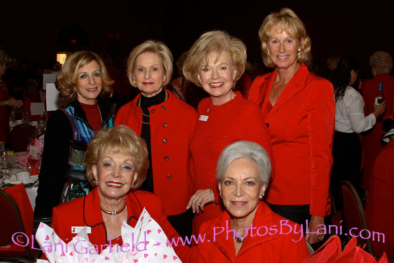 Helen Galen, Lois Davidson, Patty Newman, Shellie Reade, Jean Carrus, Helen Herman