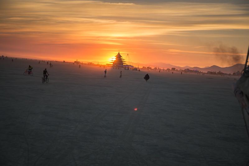 Temple Sunrise