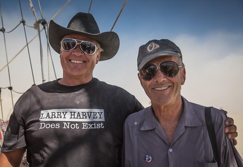 Larry Harvey Sunrise Cruise