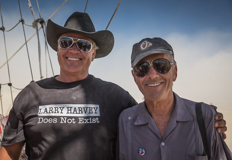 Larry Harvey Sunrise Cruise