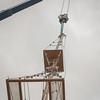 Raising the mast