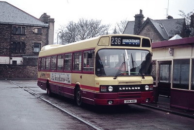 Burnley and Pendle 48 Rawtenstall Bus Station Mar 94