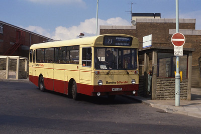 Burnley and Pendle 35 Colne Bus Stn Sep 89