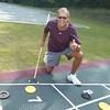 Dennis won at shuffleboard!