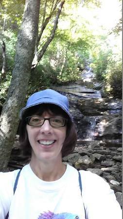 Selfie at the falls!