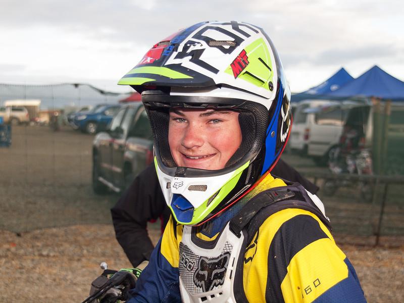 Burt Munroe Challenge winner Motor Cross Winton