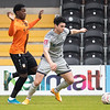 Picture: Richard Burley/Epic Action Imagery <br /> <br /> Barnet v Burton Albion - FA Cup Round 1 - 08/11/2020<br /> <br /> Pictured: Joe Powell (Burton Albion) moves forward into attack during the FA Cup Round 1  match between Barnet and Burton Albion at the Hive Stadium on Sunday 8th November 2020.
