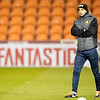 Picture: Richard Burley/Epic Action Imagery <br /> <br /> Blackpool v Burton Albion - SkyBet League One - 09/02/2021<br /> <br /> Pictured: Dino Maamria (Burton Albion) on the pitch ahead of the SkyBet League 1  match between Blackpool and Burton Albion  at Bloomfield Road on Tuesday 9th February 2021.