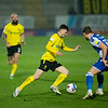 Picture: Richard Burley/Epic Action Imagery <br /> <br /> Burton Albion v Bristol Rovers - SkyBet League One - 02/03/2021<br /> <br /> Pictured: Jonny Smith (Burton Albion) takes on Alfie Kilgour (Bristol Rovers) during the SkyBet League 1  match between Burton Albion and Bristol Rovers at the Pirelli Stadium on Tuesday 2nd March 2021.