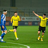 Picture: Richard Burley/Epic Action Imagery <br /> <br /> Burton Albion v Bristol Rovers - SkyBet League One - 02/03/2021<br /> <br /> Pictured: Jonny Smith (Burton Albion) celebrates opening the scoring during the SkyBet League 1  match between Burton Albion and Bristol Rovers at the Pirelli Stadium on Tuesday 2nd March 2021.