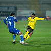 Picture: Richard Burley/Epic Action Imagery <br /> <br /> Burton Albion v Bristol Rovers - SkyBet League One - 02/03/2021<br /> <br /> Pictured: Michael Mancienne (Burton Albion) slides in to nick the ball off of Josh Grant (Bristol Rovers) during the SkyBet League 1  match between Burton Albion and Bristol Rovers at the Pirelli Stadium on Tuesday 2nd March 2021.