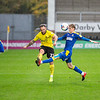 Picture: Epic Action Imagery <br /> <br /> Burton Albion v AFC Wimbledon - SkyBet League One - 24/10/2020<br /> <br /> Pictured: Neal Eardley of Burton Albion crosses the ball in front of Jack Rudoni of AFC Wimbledon  during the SkyBet League 1  match between Burton Albion and AFC Wimbledon at the Pirelli Stadium on Saturday 24th October 2020.