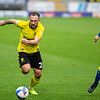 Picture: Epic Action Imagery <br /> <br /> Burton Albion v AFC Wimbledon - SkyBet League One - 24/10/2020<br /> <br /> Pictured: Neal Eardley of Burton Albion chases down a loose ball followed by Steve Seddon of AFC Wimbledon  during the SkyBet League 1  match between Burton Albion and AFC Wimbledon at the Pirelli Stadium on Saturday 24th October 2020.