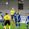 Picture: Epic Action Imagery <br /> <br /> Burton Albion v AFC Wimbledon - SkyBet League One - 24/10/2020<br /> <br /> Pictured: Sam Hughes of Burton Albion gets above Anthony Hartigan of AFC Wimbledon to head the ball during the SkyBet League 1  match between Burton Albion and AFC Wimbledon at the Pirelli Stadium on Saturday 24th October 2020.