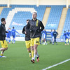 Picture: Andrew Sims/ Epic Action Imagery<br /> <br /> Gillingham v Burton Albion - SkyBet League One - 09/01/2021<br /> <br /> Pictured: Luke Varney (Burton Albion) warming up during the SkyBet League One match between Gillingham and Burton Albion  at the Priestfield Stadium on Saturday 9th January 2021