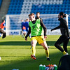 Picture: Andrew Sims/ Epic Action Imagery<br /> <br /> Gillingham v Burton Albion - SkyBet League One - 09/01/2021<br /> <br /> Pictured: Hayden Carter (Burton Albion) warming up during the SkyBet League One match between Gillingham and Burton Albion  at the Priestfield Stadium on Saturday 9th January 2021