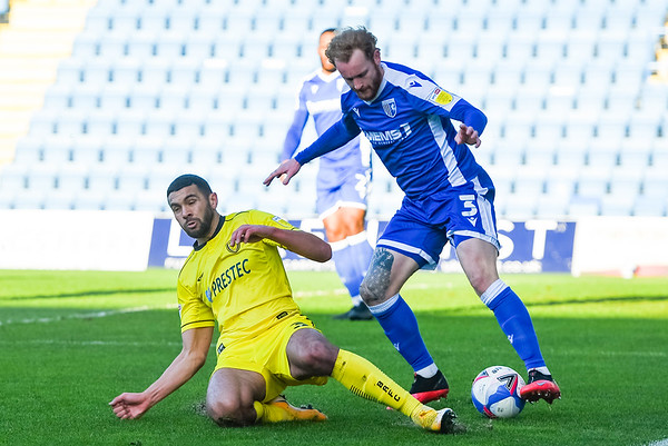 Picture: Andrew Sims/ Epic Action Imagery<br /> <br /> Gillingham v Burton Albion - SkyBet League One - 09/01/2021<br /> <br /> Pictured: <br /> during the SkyBet League One match between Gillingham and Burton Albion  at the Priestfield Stadium on Saturday 9th January 2021