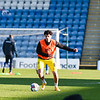 Picture: Andrew Sims/ Epic Action Imagery<br /> <br /> Gillingham v Burton Albion - SkyBet League One - 09/01/2021<br /> <br /> Pictured: Joe Powell (Burton Albion) warming up during the SkyBet League One match between Gillingham and Burton Albion  at the Priestfield Stadium on Saturday 9th January 2021