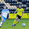 Picture: Jamie Thursfield /Epic Action Imagery <br /> <br /> Burton Albion v Ipswich Town - SkyBet League One - 16/01/2021<br /> <br /> Pictured: Ryan Edwards (Burton Albion) and Greg Docherty (hull) during the SkyBet League 1  match between Burton Albion and Ipswich Town at the Pirelli Stadium on Saturday 16th January 2021.