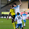 Picture: Richard Burley/Epic Action Imagery <br /> <br /> Burton Albion v Hull City - SkyBet League One - 06/02/2021<br /> <br /> Pictured: Jacob Greaves (Hull City) beats Lucas Akins (Burton Albion) to a high ball during the SkyBet League 1  match between Burton Albion and Hull City at the Pirelli Stadium on Saturday 6th February 2021.
